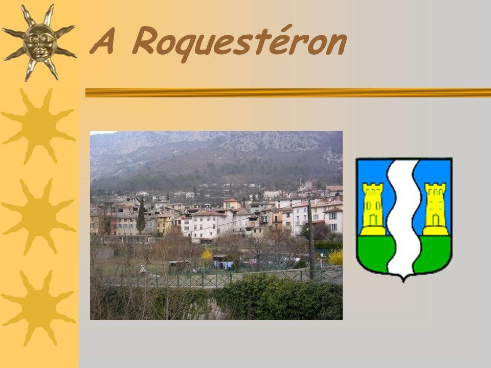 La pierre romaine On trouve des vestiges romains à Roquestéron, Roquestéron-Grasse et à Sigale.