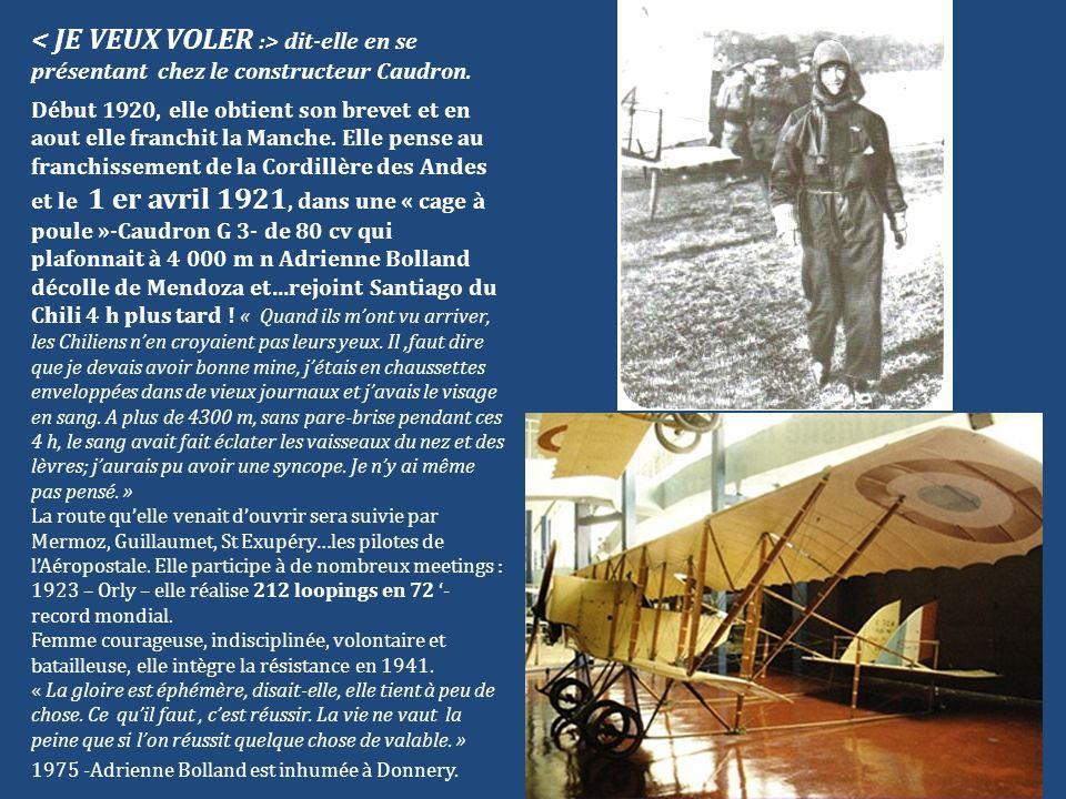 Les 14 et 15 octobre 1927, Costes et Le Brix, à bord dun Breguet 19 GR baptisé Nungesser et Coli effectuent la première traversée sans escale de lAtlantique Sud entre Saint Louis du Sénégal et Natal au Brésil.