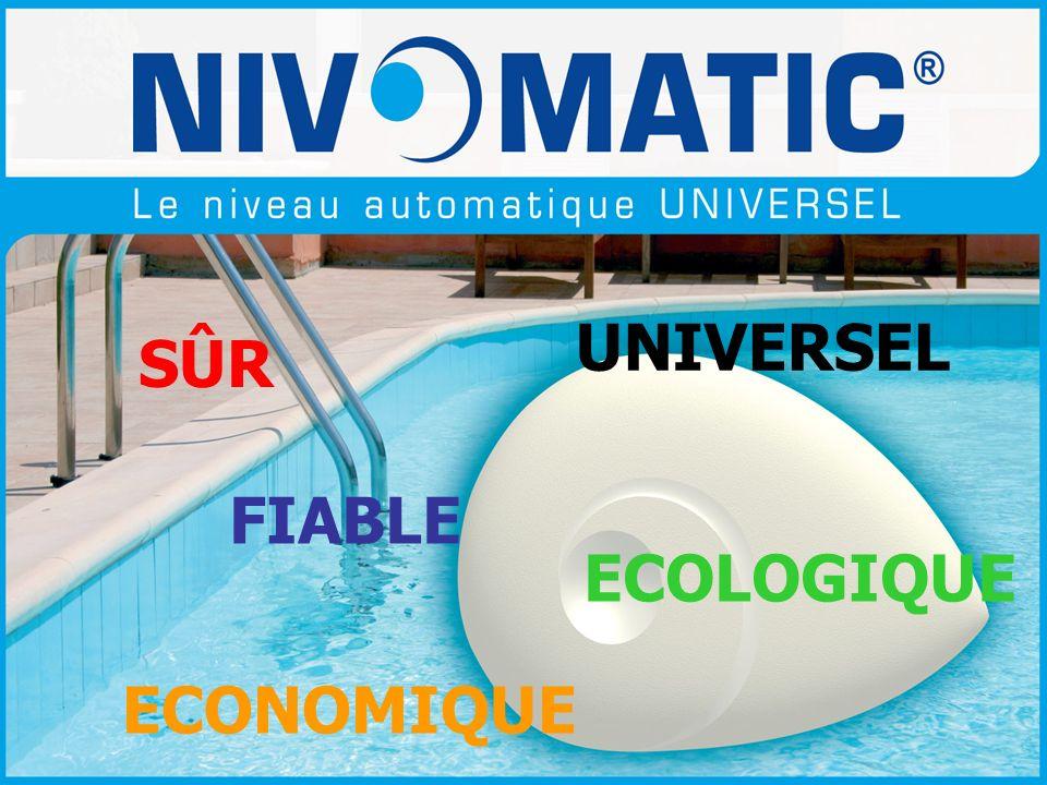 De nombreux atouts techniques NivOmatic apporte des solutions Exemple : installation dans une traversée de paroi sous un caillebotis Une installation simple, rapide et sans risques