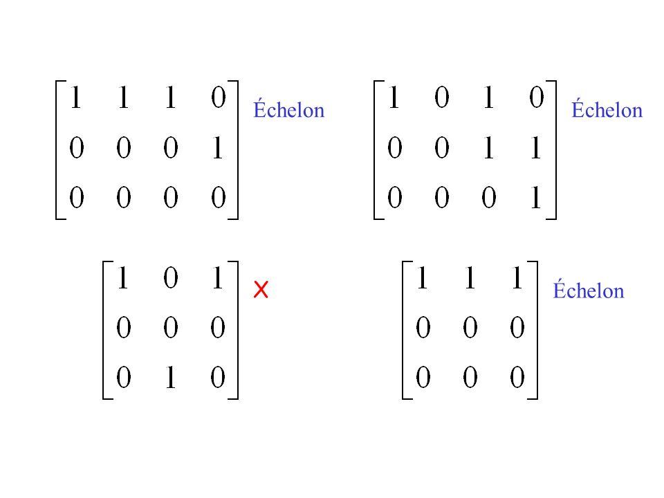 Devoir 1 1.2.18 1.3.26 1.4.40 [M] 1.5.14 1.6.42 [M] 1.6.44 [M] 1.9.6 [M] 1.9.10 Lire les sections 2.1, 2.2 et 2.3 du livre de Lay.