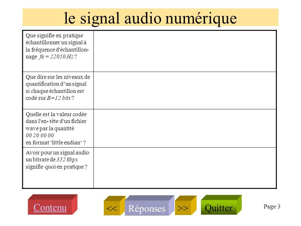 Page 2 Présentation du cours SSII Quelle est la relation entre deux fréquences séparées par une octave .