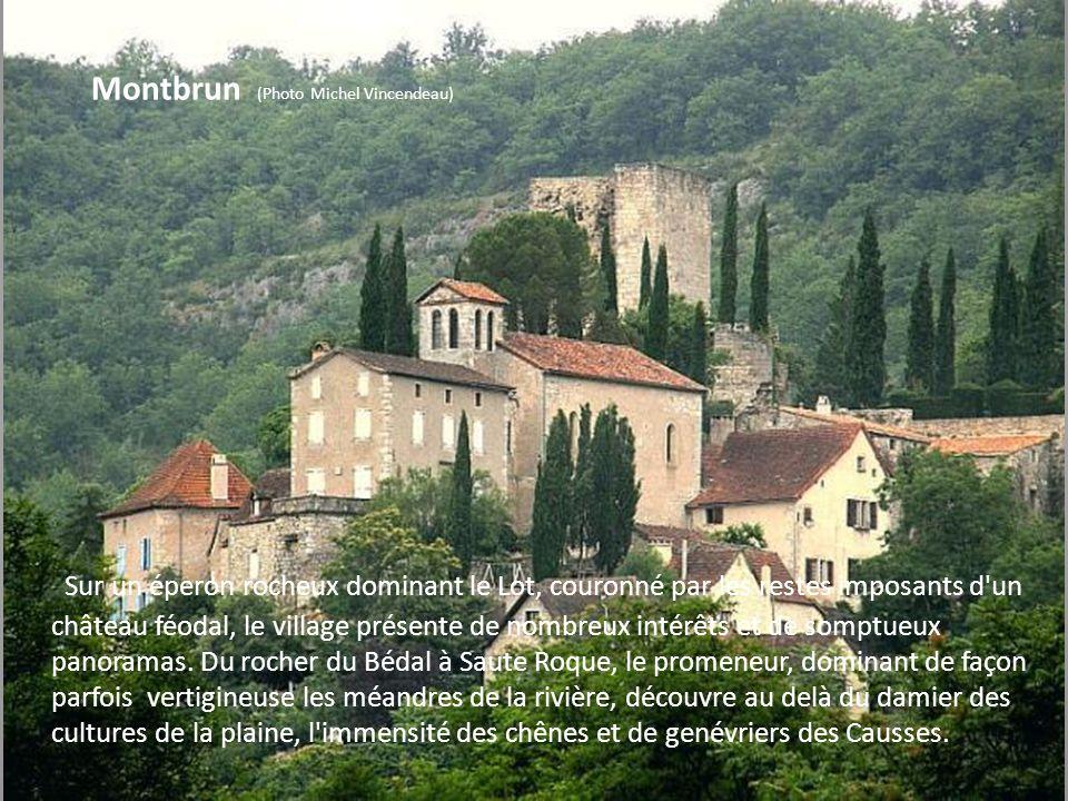 Espagnac Ste Eulalie C'est un très pittoresque village au bord du Célé. Le monastère de Notre Dame de Val Paradis qui a pu accueillir jusqu'à une cent
