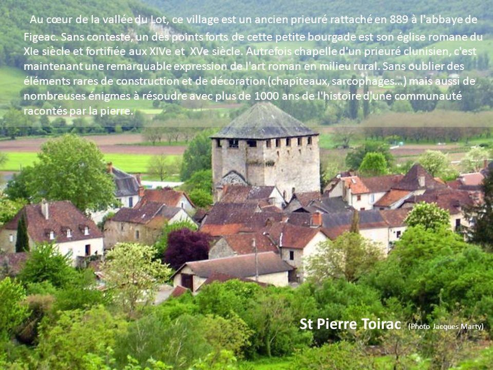 Espédaillac (Photo Paul Menez)) Il s'agit d'un beau village installé aux portes du