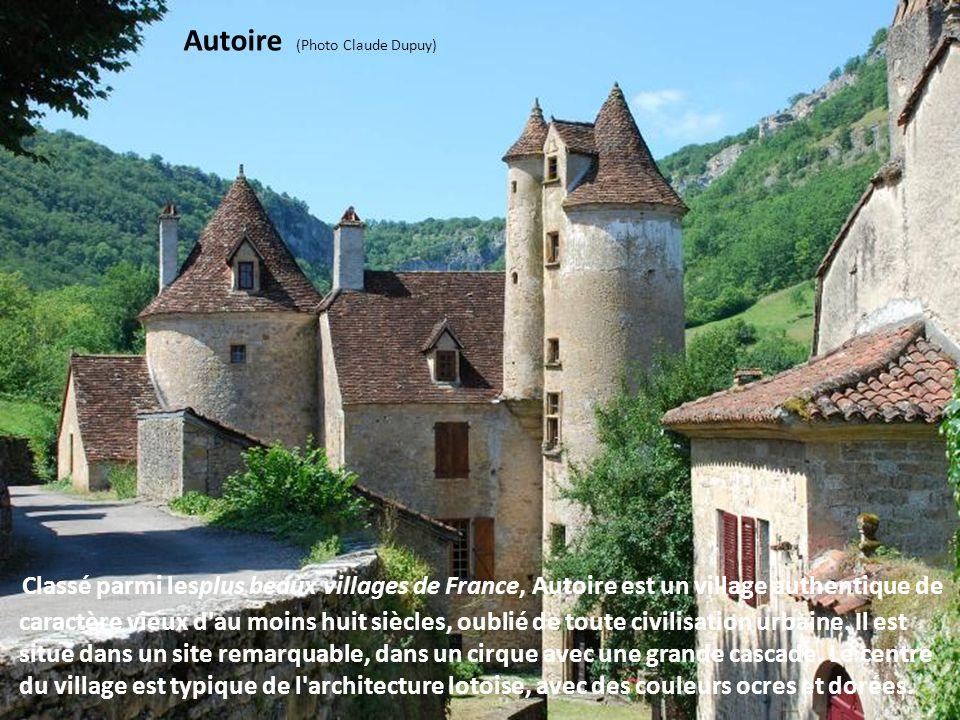 Villages de la Vallée de la Dordogne - Lot Bien que relativement court, ce tronçon lotois de la vallée est remarquable par la diversité de ses paysage