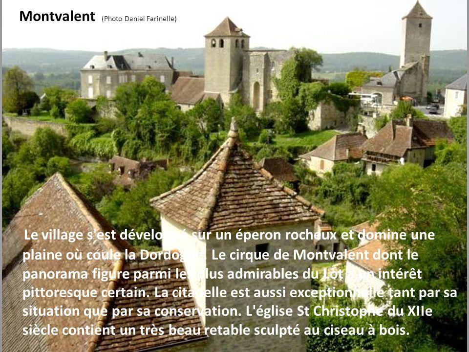Creysse (Photo Michel Chanaud) Le village n'a guère changé et comprend toujours le fort, avec les vestiges des anciens remparts, le château avec sa gr