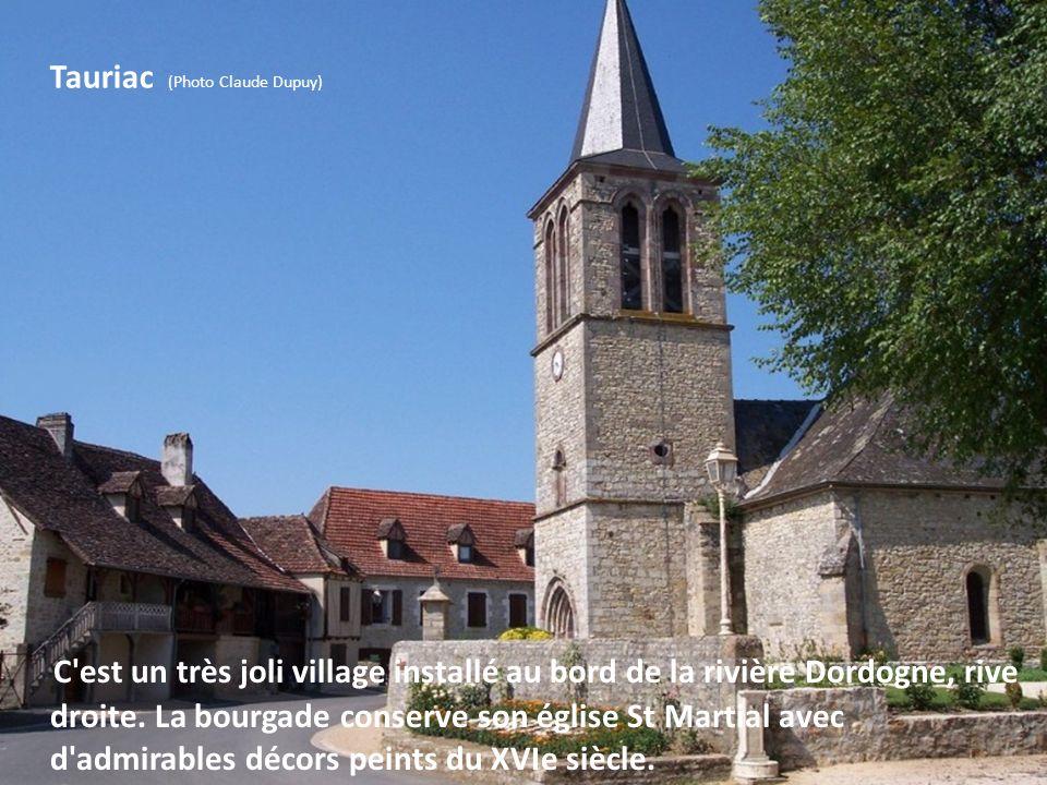 Meyronne (Photo Michel Chanaud) Le village est séparé de St Sozy juste par un pont qui enjambe la Dordogne. Le site est charmant avec de vieilles mais