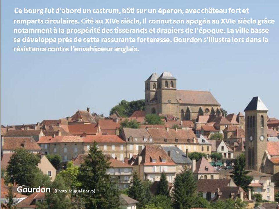Villages du Pays Bourian - Lot Cette région s'apparente au Périgord tout proche, et contraste avec les étendues sèches du causse. C'est une contrée au