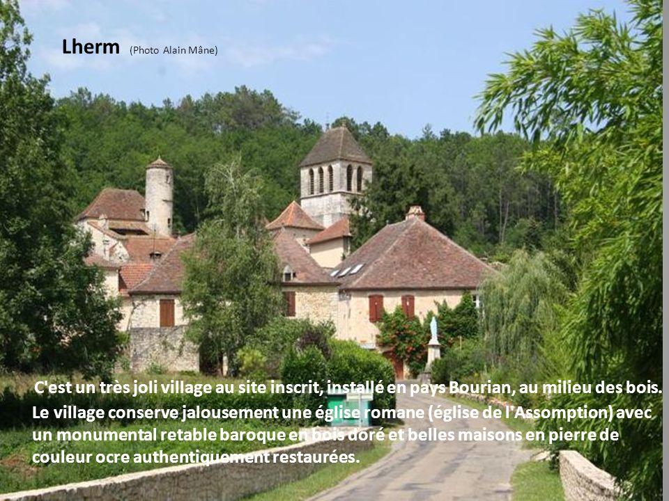 St Martin le Redon Ce très joli petit village à la frontière du Haut Agenais et du Quercy, est composé de belles maisons restaurées et fleuries. Ce vi