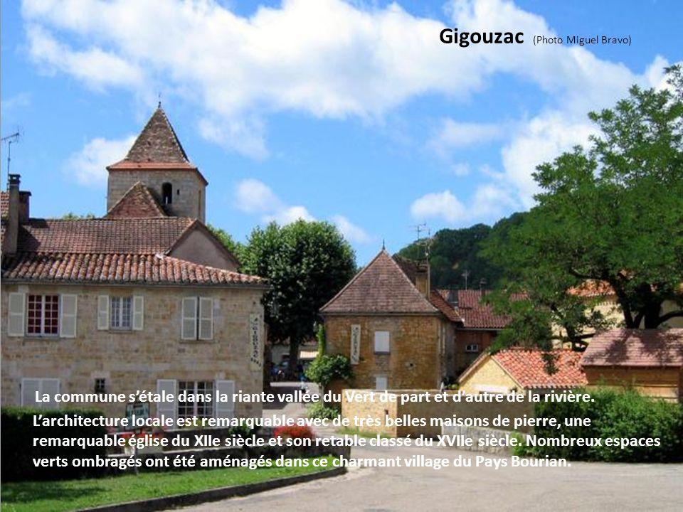 Lherm (Photo Alain Mâne) C'est un très joli village au site inscrit, installé en pays Bourian, au milieu des bois. Le village conserve jalousement une