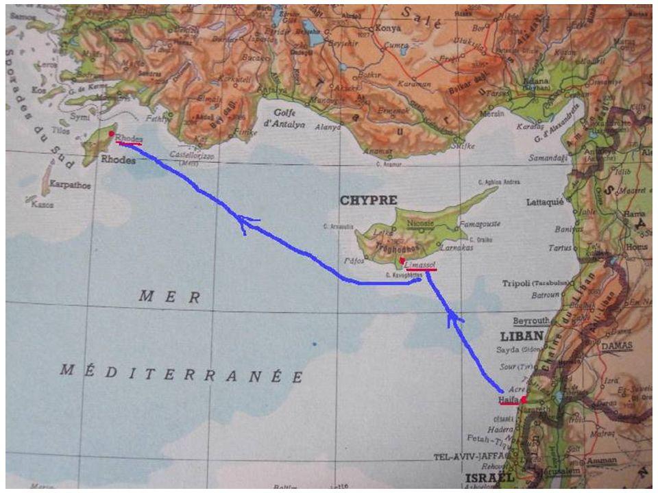 Et les côtes sauvages et arides du sud de la Turquie se trouvent à quelques encablures seulement…