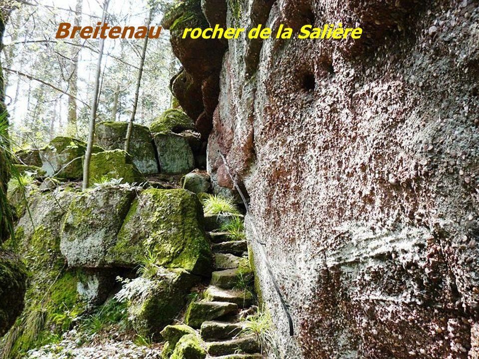 Breitenau la roche des Fées