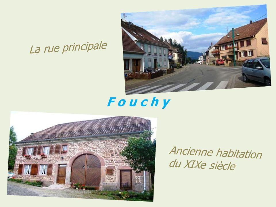 F o u c h y Panorama et vue sur le village
