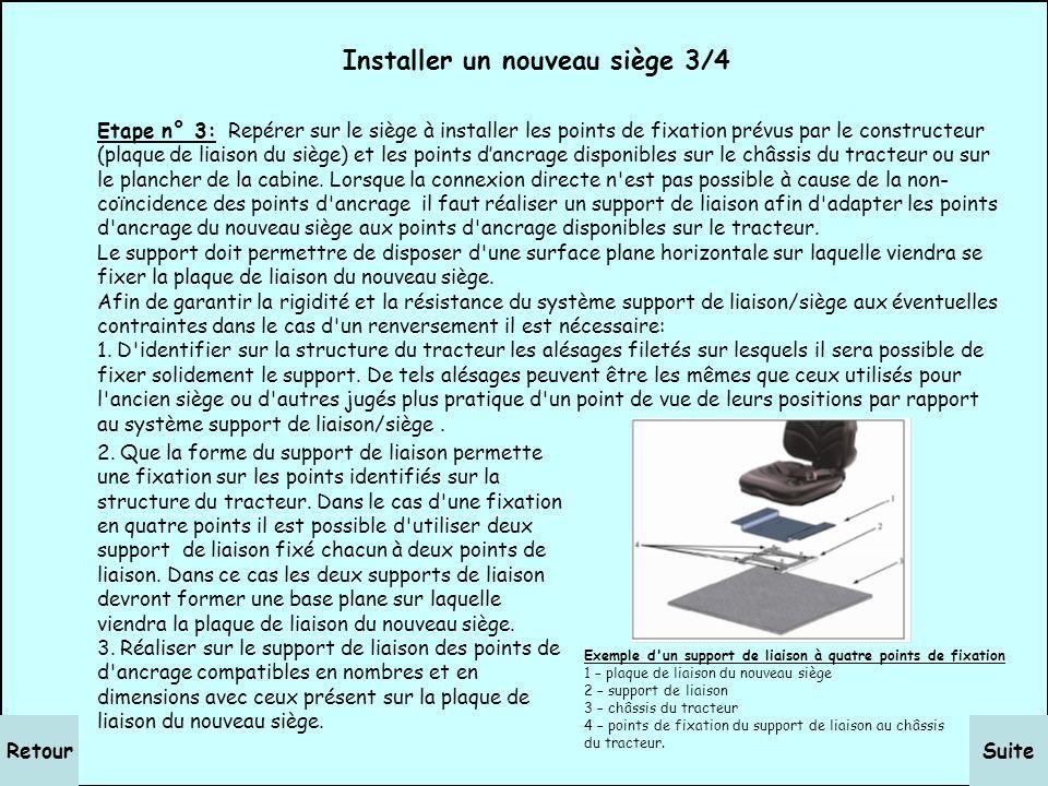 SuiteRetour Installer un nouveau siège 2/4 Etape n° 2: Déterminer selon la méthode précédente la position du point de référence du siège de remplaceme