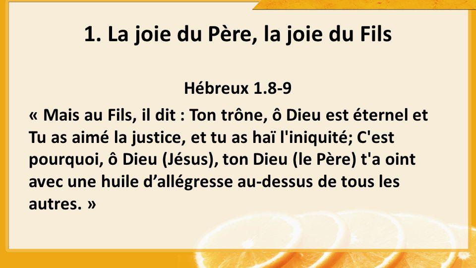 Hébreux 1.8-9 « Mais au Fils, il dit : Ton trône, ô Dieu est éternel et Tu as aimé la justice, et tu as haï l'iniquité; C'est pourquoi, ô Dieu (Jésus)