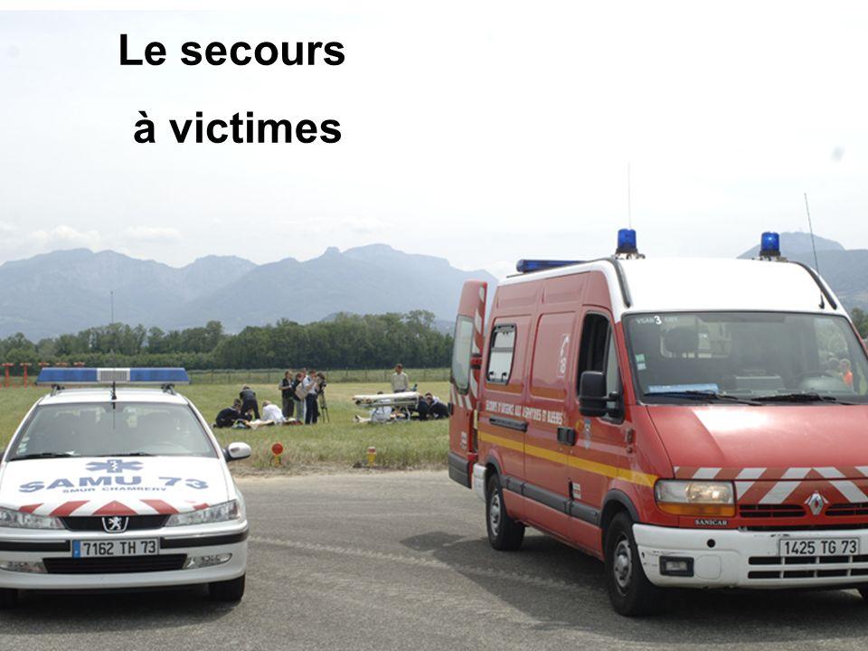 Le secours à victimes