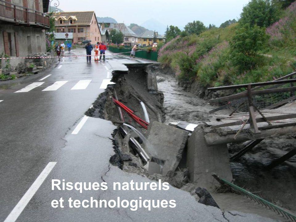 Risques naturels et technologiques