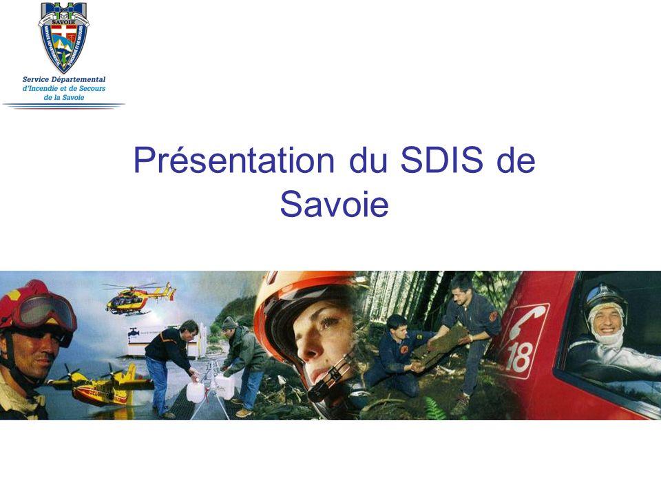 Présentation du SDIS de Savoie