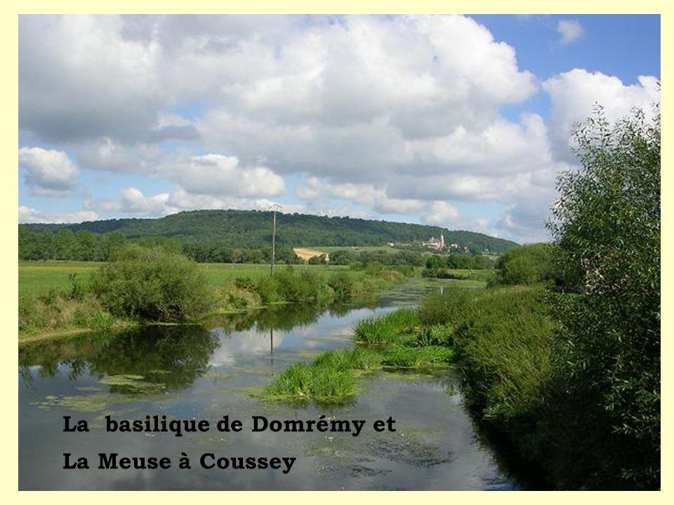 La basilique de Domrémy et La Meuse à Coussey