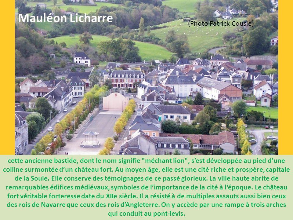 C'est fort loin dans le passé que la Soule, petite province basque, plonge ses racines. Située entre Basse Navarre, Béarn et Navarre espagnole, son pa