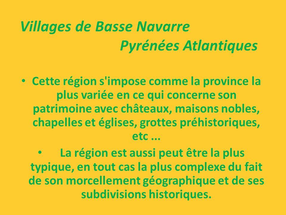 la commune réunissant les deux hameaux de Camou et Cihigue disposent d'innombrables fermes typiques de la région. Ces fermes présentent un aspect mass