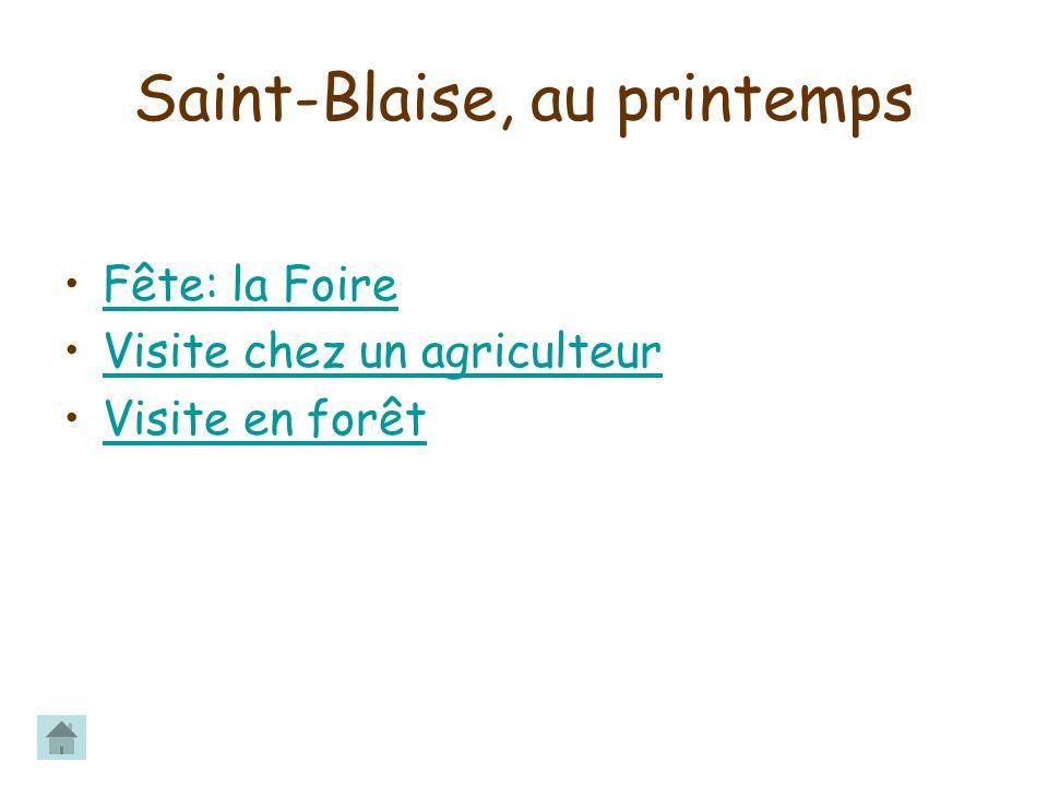 Il y a beaucoup dorvets dans la forêt de St-Blaise.