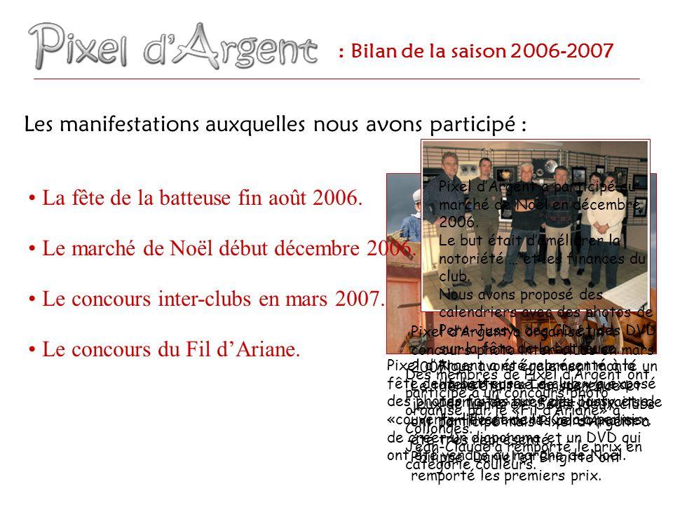 Des membres de Pixel dArgent ont participé à un concours photo organisé par le «Fil dAriane» à Collonges.