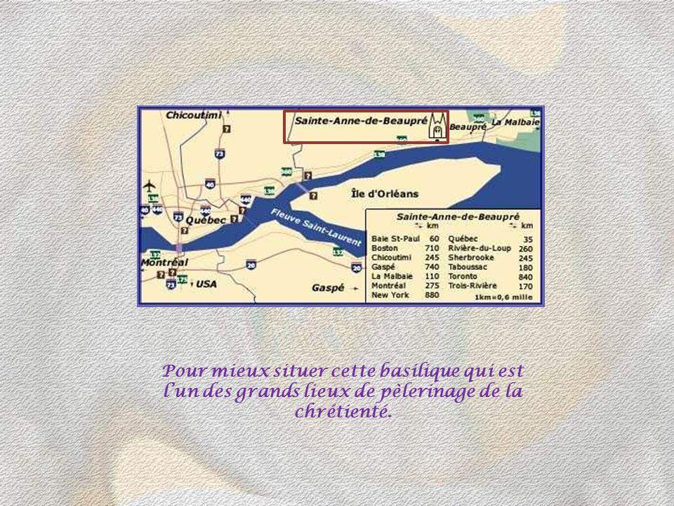 La basilique de SAINTE-ANNE- DE-BEAUPRE