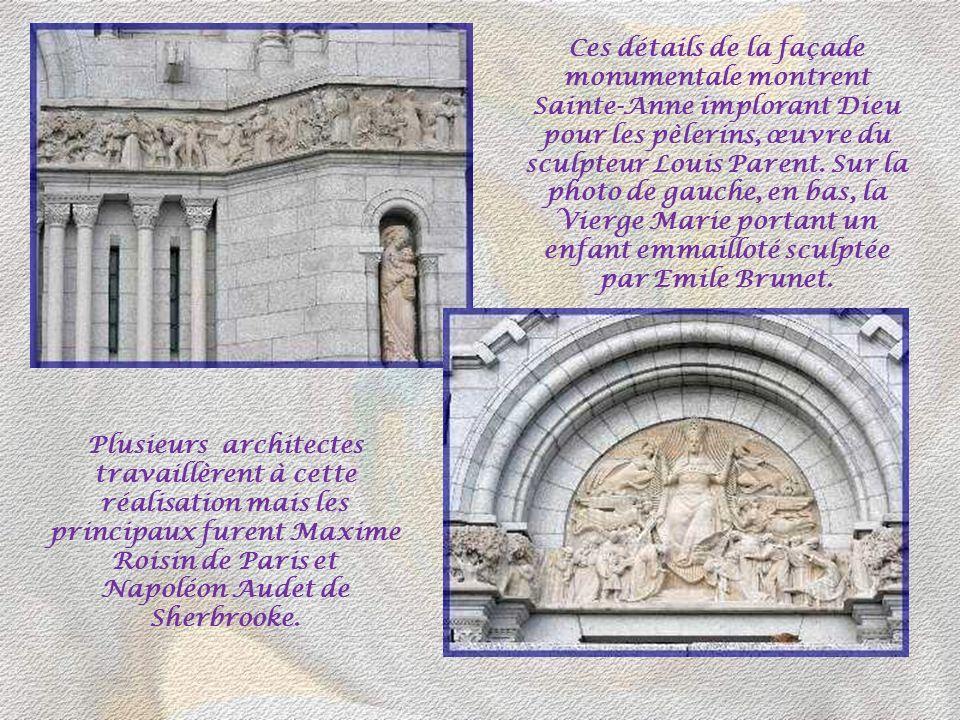 Si le style roman domine dans les détails et dans les arcs en plein cintre, les proportions et les élévations de lédifice sont davantage gothiques. Au