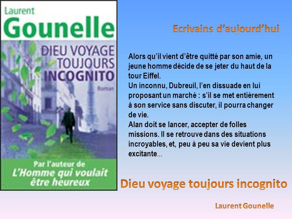 Alors quil vient dêtre quitté par son amie, un jeune homme décide de se jeter du haut de la tour Eiffel. Un inconnu, Dubreuil, len dissuade en lui pro
