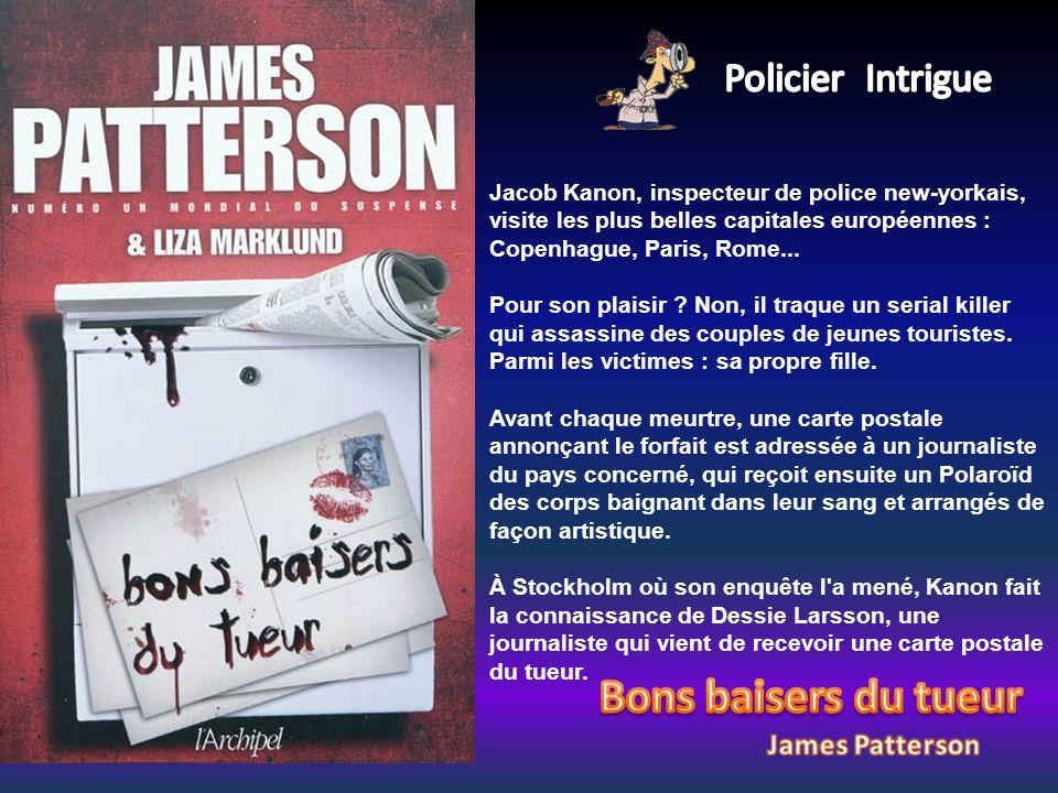 Jacob Kanon, inspecteur de police new-yorkais, visite les plus belles capitales européennes : Copenhague, Paris, Rome... Pour son plaisir ? Non, il tr