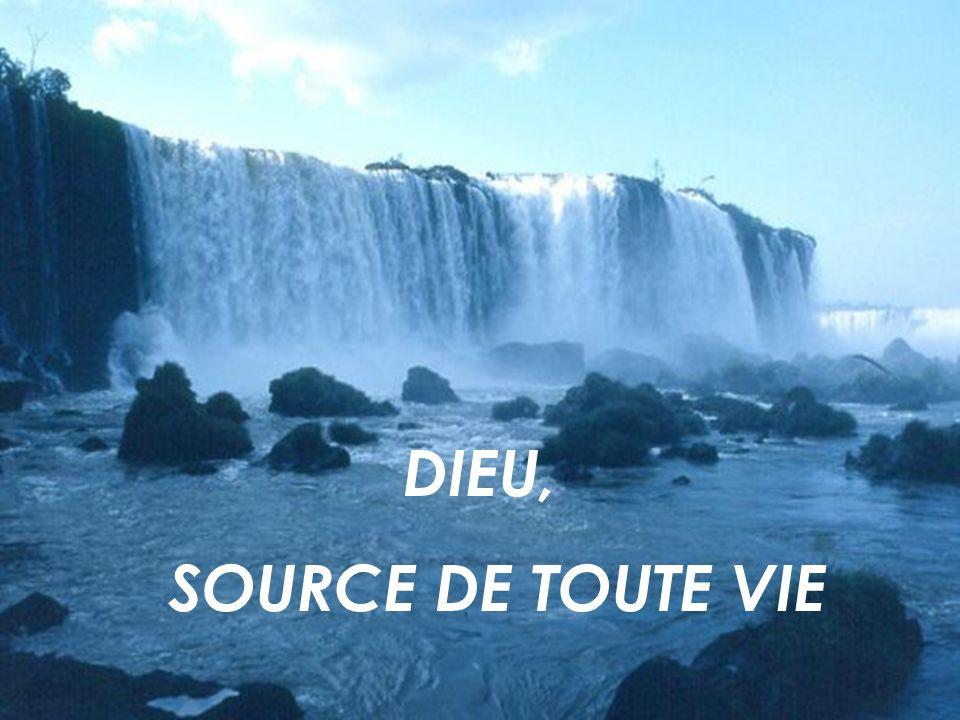 DIEU, SOURCE DE TOUTE VIE