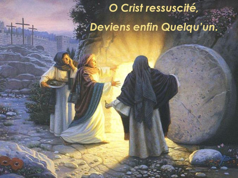 Cest sur ta croix, Seigneur, Que se fait la rencontre.