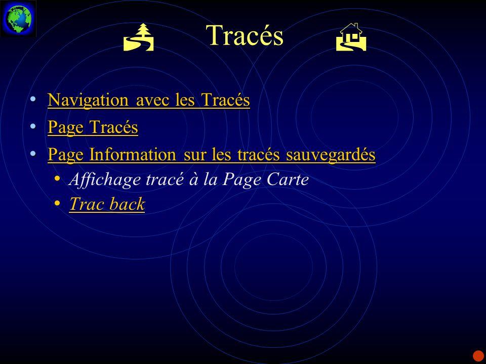 Tracés Navigation avec les Tracés Navigation avec les Tracés Navigation avec les Tracés Navigation avec les Tracés Page Tracés Page Tracés Page Tracés