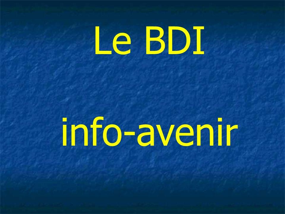 Le BDI info-avenir