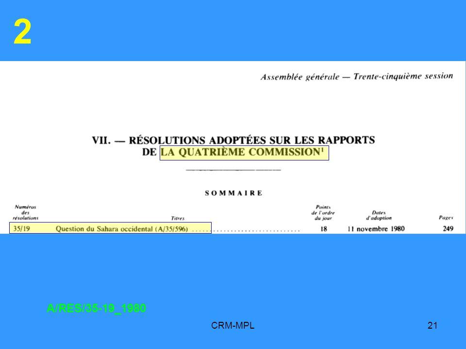 CRM-MPL21 2 A/RES/35-19_1980