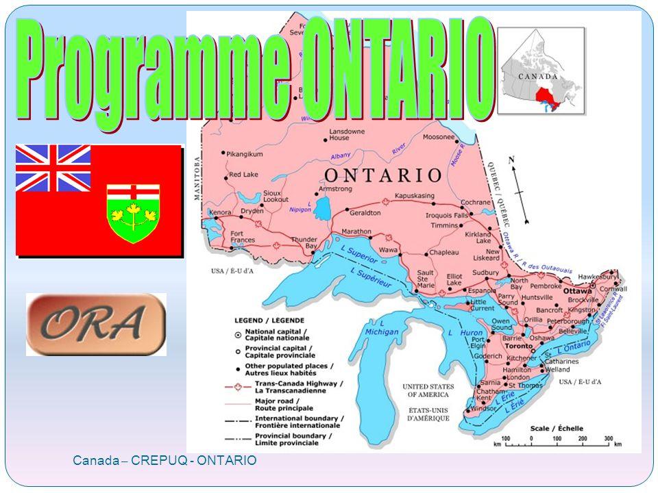 Canada – CREPUQ - ONTARIO