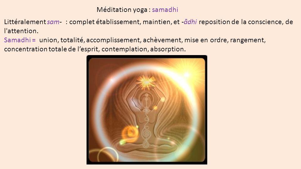 Méditation Theravada Vipassana ou Vision pénétrante L objet primaire d attention est l abdomen et il faut revenir sans cesse sur l abdomen, Travail sur - l énergie mentale (viriya), - l attention (sati, smriti) - la concentration (samadhi)