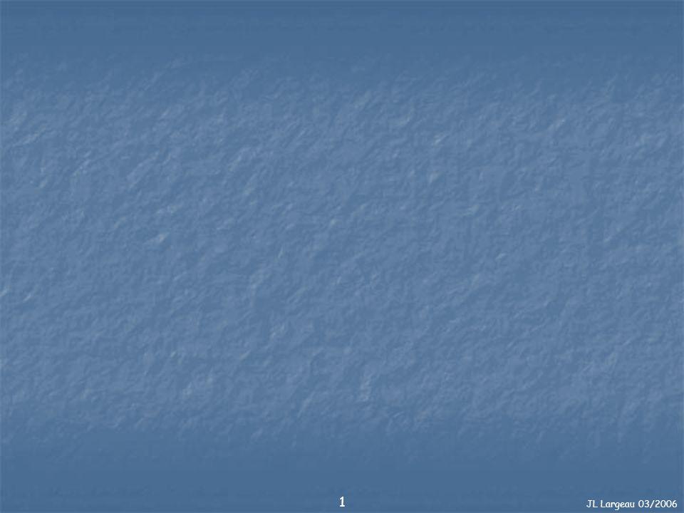 JL Largeau 03/2006 32 Rappels : Définitions 15m/min 6m/min 1er palier Calcul des Durées de Remontée = 2min 15 36 - 6 6 = 0,5min 6 - 3 36m 6m 3m 2nd palier