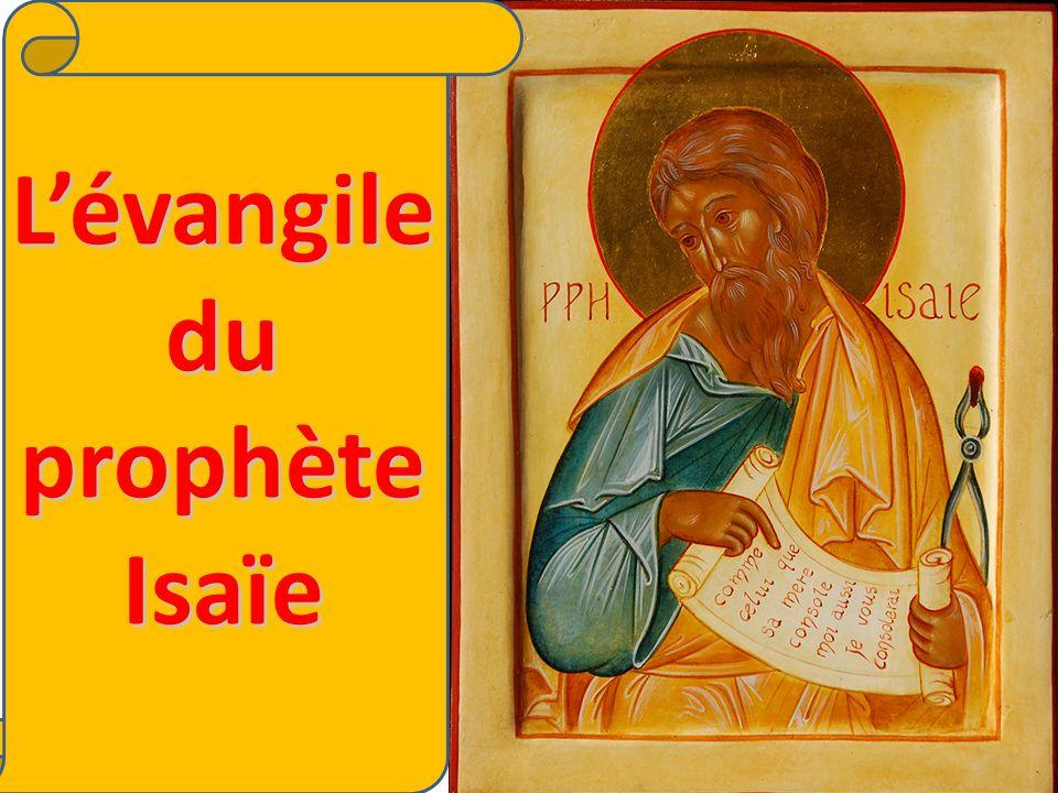 Lévangile du prophète Isaïe