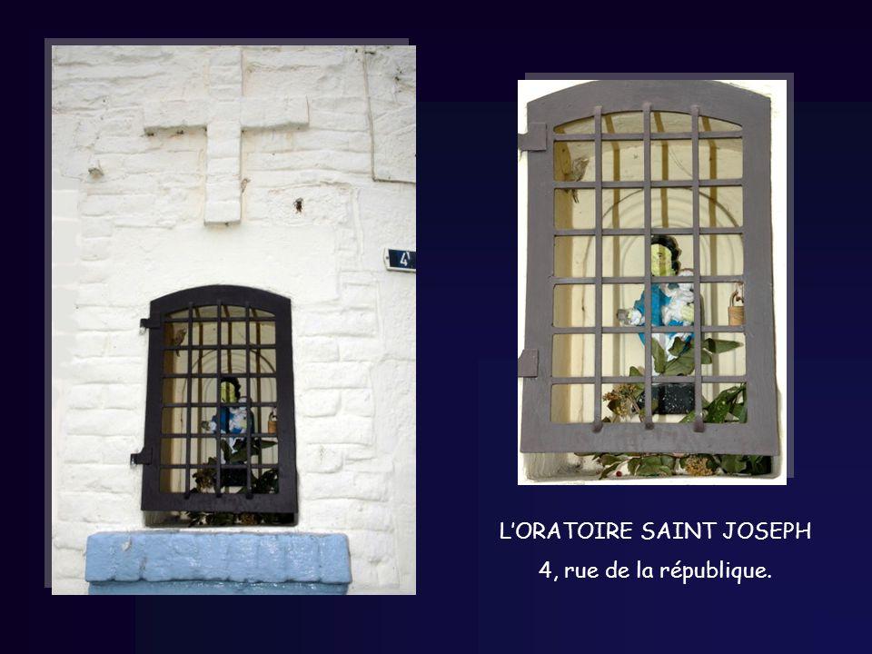 LORATOIRE SAINT JOSEPH 4, rue de la république.