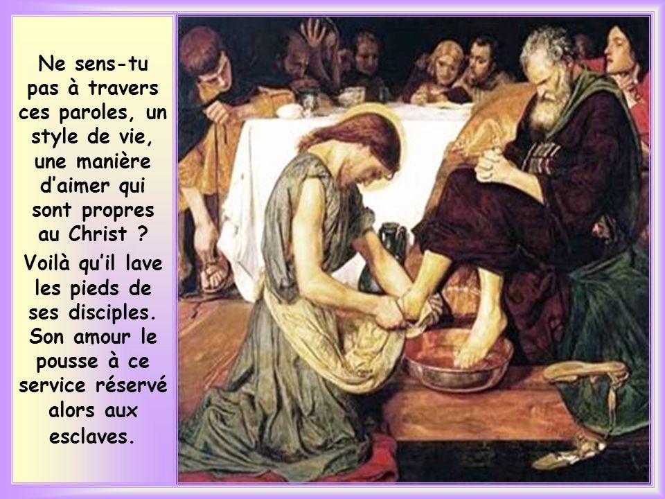 « Lui, qui avait aimé les siens qui sont dans le monde, les aima jusquà lextrême. »