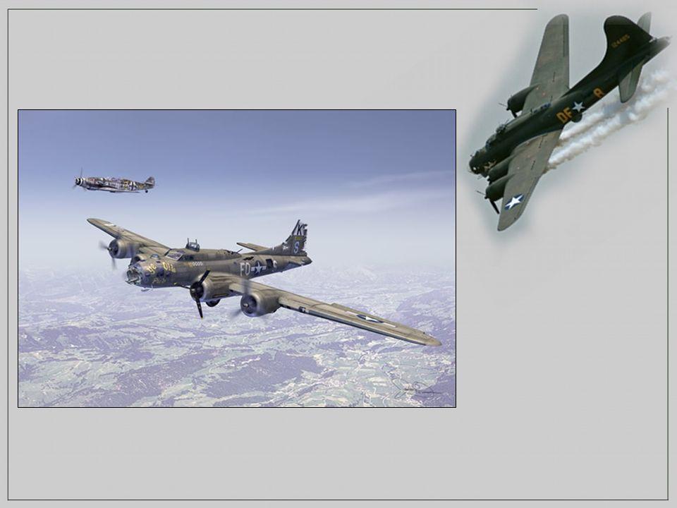 Récit du Lieutenant Charles L. BROWN Ensuite, le B-17 chuta de 8500 à 70 m avant qu'il ne reprenne conscience. Chose incroyable, notre avion, le
