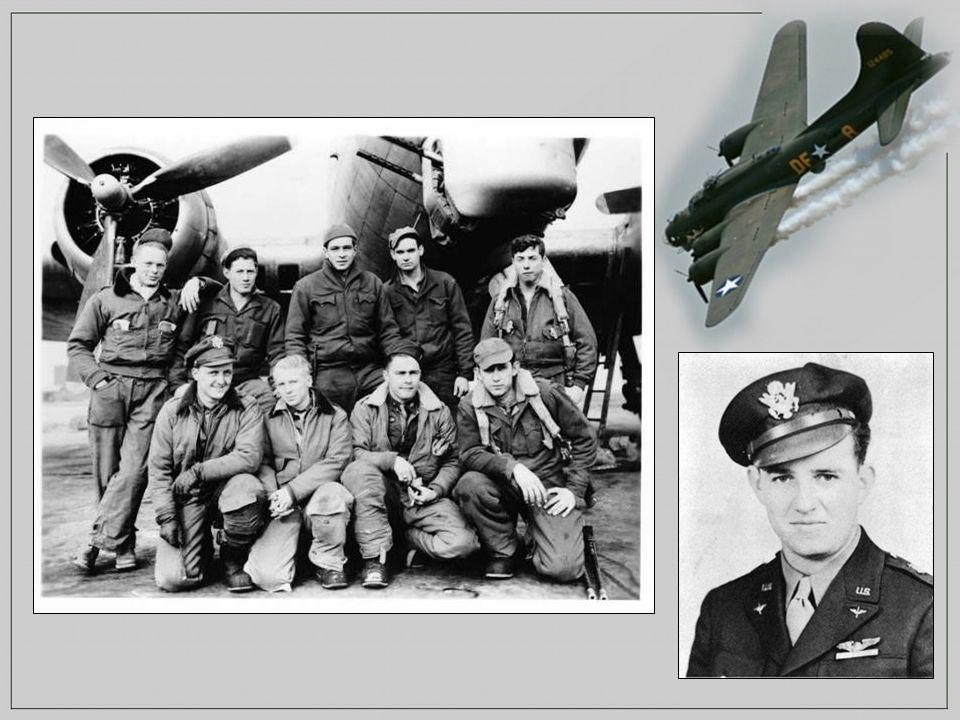 Le 20 Décembre 1943 de retour d une mission à Brême en Allemagne, le second lieutenant Charles L.