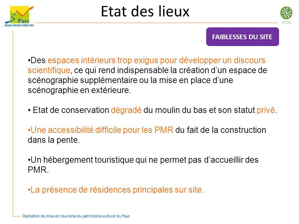 Etat des lieux Pour la commune dEntrevaux : Equilibrer la découverte des richesses patrimoniales de part et dautre du Var.