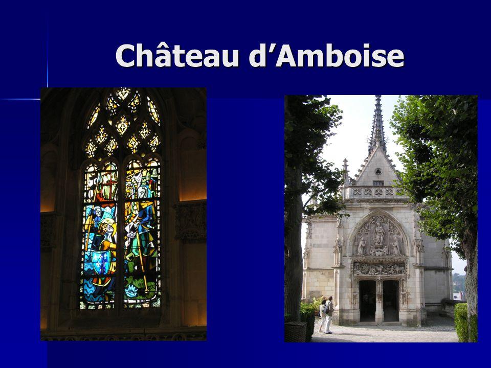 Histoire La Fondation Saint-Louis, propriétaire du château royal dAmboise, conduit des travaux de restauration et acquiert régulièrement de nouvelles pièces de collections et darchives.