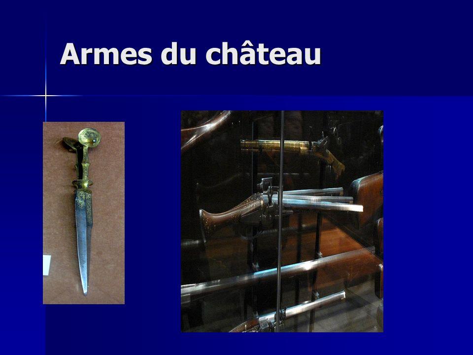 Armes du château