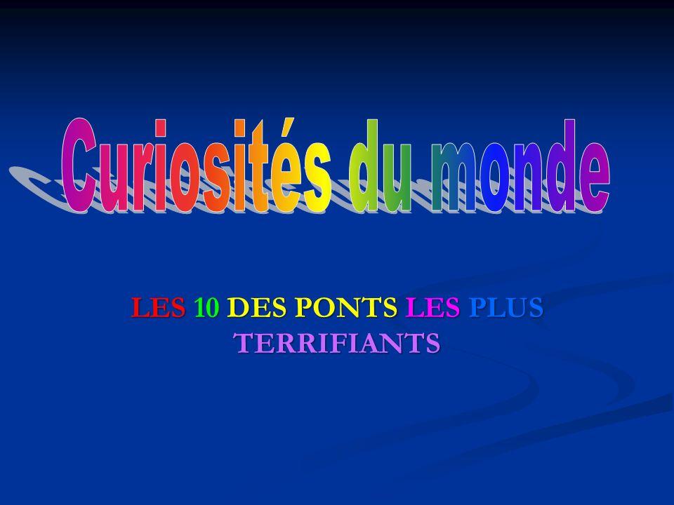 1.Pont de l Aiguille du Midi (France) Impossible de ne pas avoir le vertige.