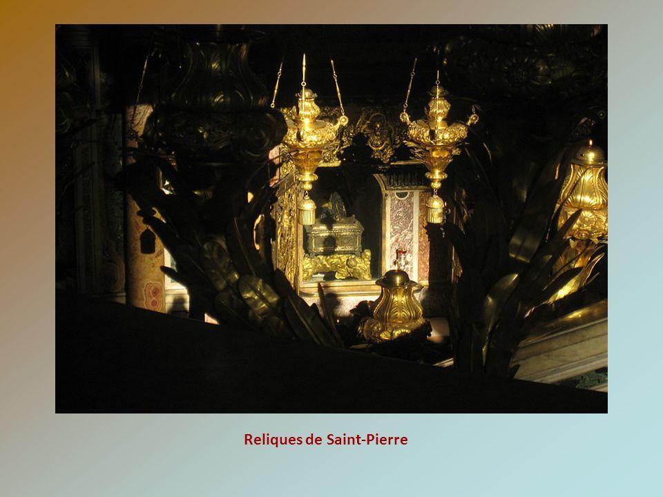 Reliques de Saint-Pierre