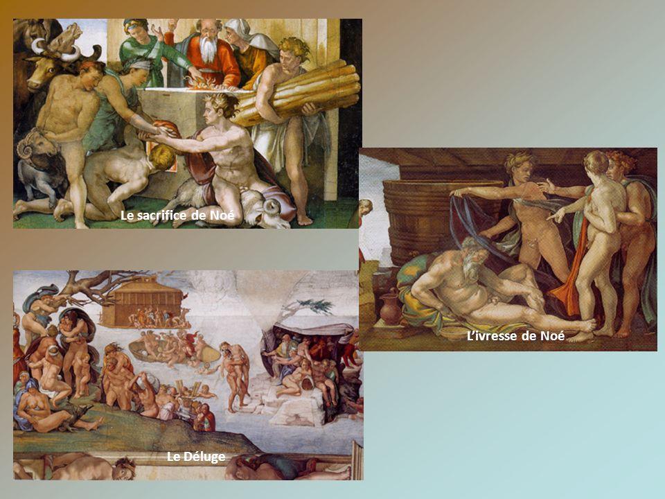 Le sacrifice de Noé Le Déluge Livresse de Noé