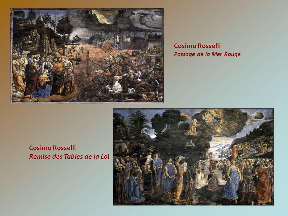 Cosimo Rosselli Passage de la Mer Rouge Cosimo Rosselli Remise des Tables de la Loi